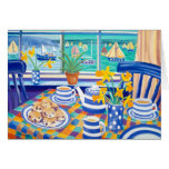 Art Card: Cornish Teatime ( Cornish Blue )