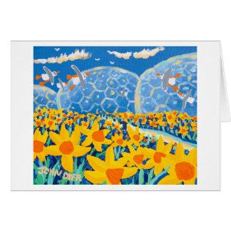Art Card: Daffodil Blue, Eden Project Card