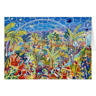 Art Card: Garden of Eden. The Eden Project, UK Card