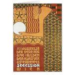 Art Card /Invitation: Vienna Secession Poster