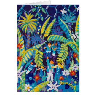 Art Card: Jungle Valley, The Eden Project Card