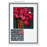 Art Card or Invitation: Roses - Ludwig Hohlwein