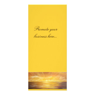 art card personalized rack card