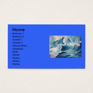 Art cartão-de-visita business card