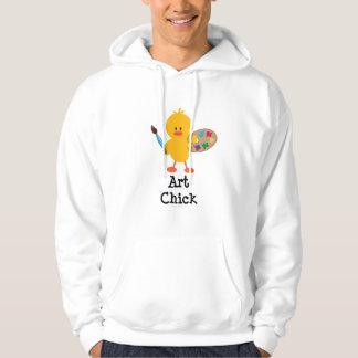 Art Chick Hooded Sweatshirt