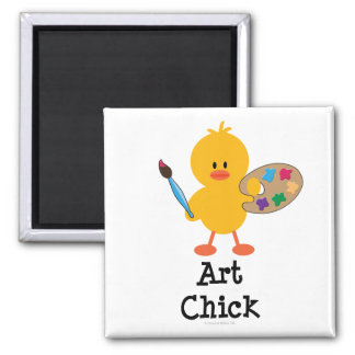 Art Chick Magnet