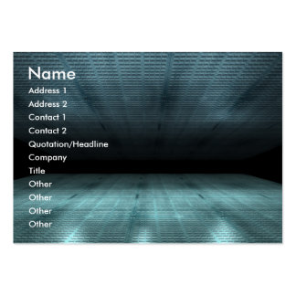Art City Abstract Large Business Card