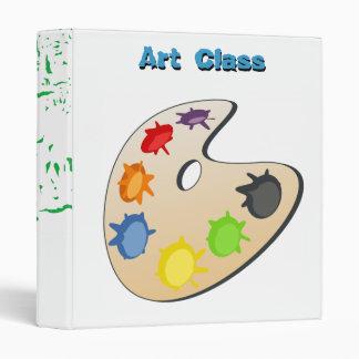Art Class Binder