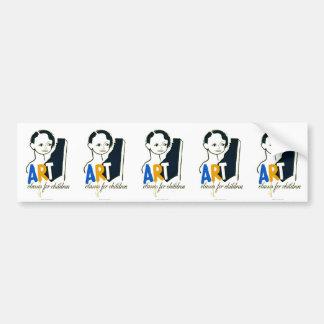 Art Classes for Children - WPA Poster - Bumper Sticker