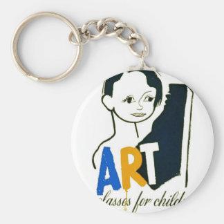 Art Classes for Children - WPA Poster - Keychain