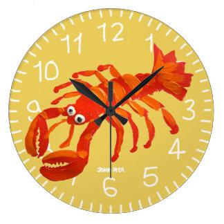 Art Clock: John Dyer Cornish Lobster. Padstow