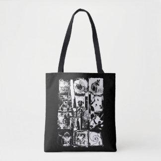 ART COLLAGE black & white + your ideas Tote Bag