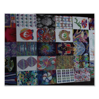ART Collection Collage Poster