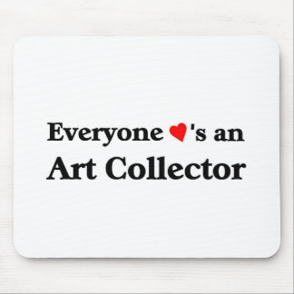 Art Collector Mouse Pad