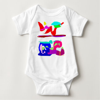 Art Colors Baby Bodysuit