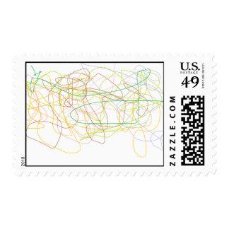 Art Colur thin line stamp