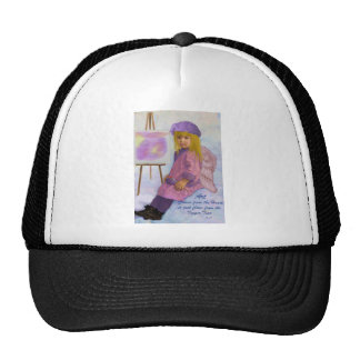 Art Comes from the Heart Trucker Hat
