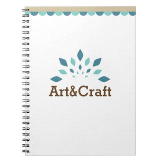 Art & Craft Spiral Notebook