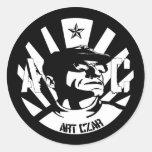 Art Czar - Da Man - Round Sticker