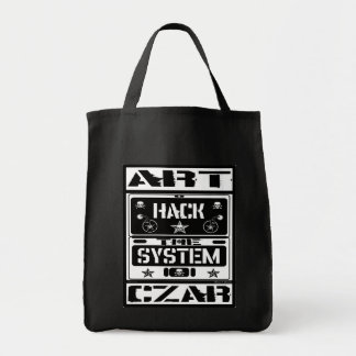 Art Czar Grocery / Tote Bag - Hack The System