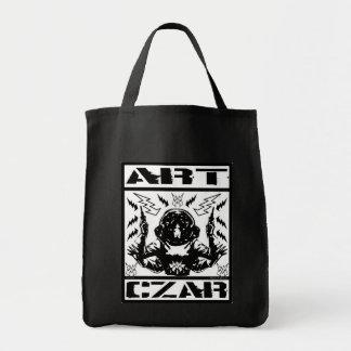 Art Czar Grocery / Tote Bag - Space Monster #1