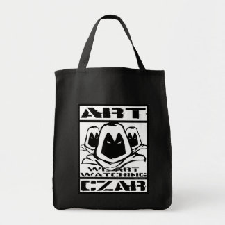 Art Czar Grocery / Tote Bag - Watchers #1