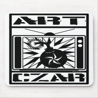 Art Czar - Kill Your TV #1 (Czar Bomb) - Mousepad