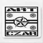 Art Czar - Star Badge #3 Mouse Pad
