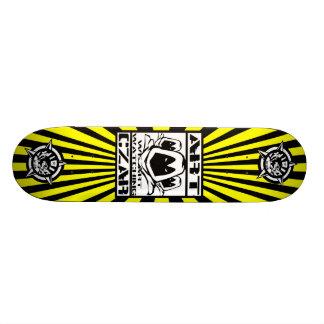 Art Czar - We Art Watching #1 Buzz Bomb Skateboard