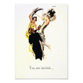 Art Deco 1920s Jazz Age Card