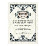 Art Deco 1920s Party Invitation