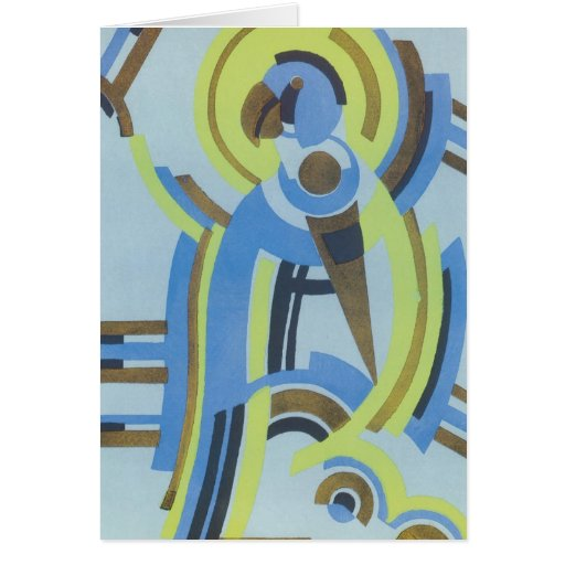 Art Deco Abstract  (44) Greeting Card
