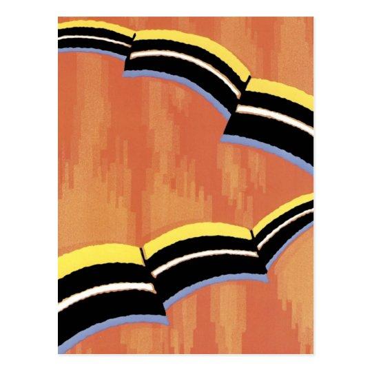 Art Deco Abstract  (64) Postcard