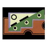 Art Deco Abstract  (73) Postcard