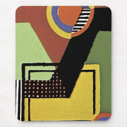 Art Deco Abstract  (88) Mouse Pad