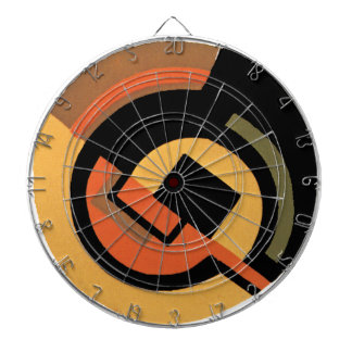 Art Deco Abstract Dartboards