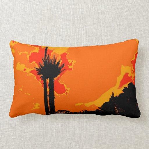 Art déco abstracto retro almohada
