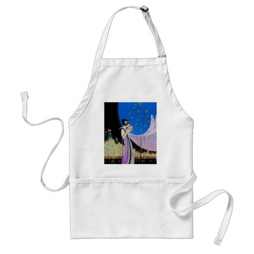 Art Deco Advertising Art  by Fred Parker Apron