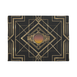 Art Deco Antique Gold Doormat