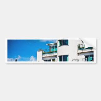 Art Deco Apartments Bumper Sticker