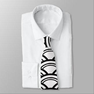 Art Deco Arches Tie