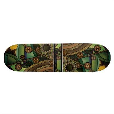 Art Deco+Art Nouveau Skate