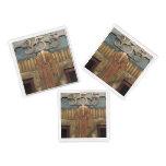 art deco, art nouveau, vintage,original,elevator,d acrylic tray
