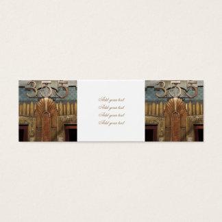 art deco, art nouveau, vintage,original,elevator,d mini business card