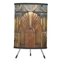 art deco, art nouveau, vintage,original,elevator,d tripod lamp