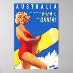 Art Deco AU Travel poster 2