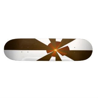Art Deco Autumn Custom Skate Board