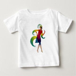 Art Deco bailarina dancer Playera