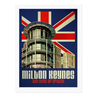 Art Deco Best of British postcard