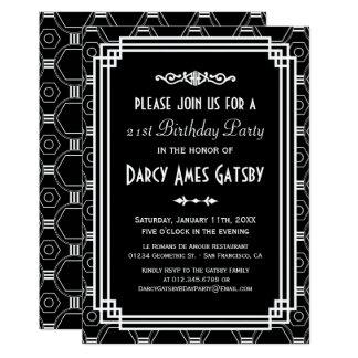 black and white party invitations  announcements  zazzle, Party invitations
